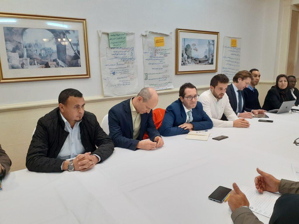 لقاء أعضاء شبكة صناع السلام مع مفوضية الاتحاد الأوروبي
