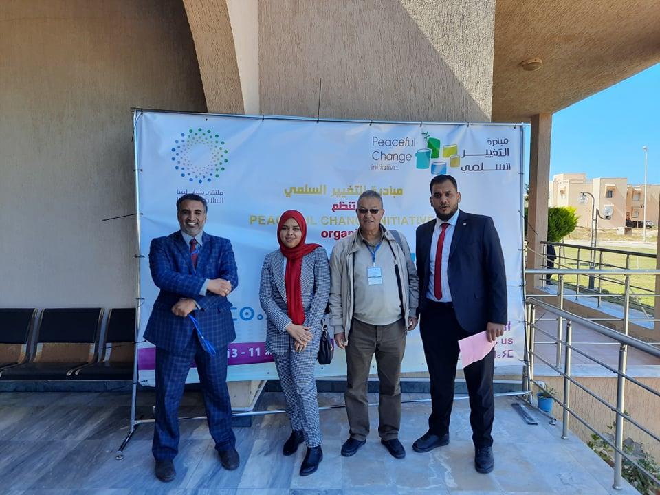 أعضاء شبكة صناع السلام يشاركون في مخيم بشبابها نبنيها في مدينة زوارة
