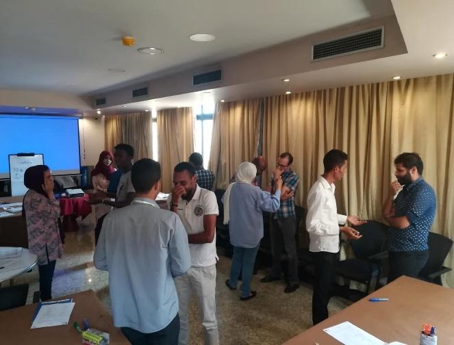 فعاليات ورشة طرابلس
